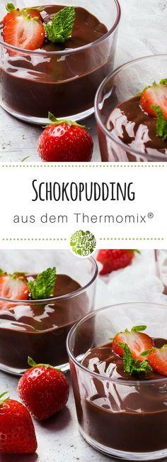 Schokoladenpudding Rezept aus dem Thermomix - so einfach, so unwiderstehlich, so lecker! #thermomix #tm5