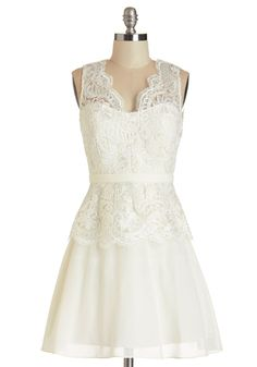 A Perfect Matrimony Dress, #ModCloth