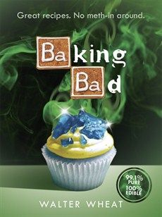 pure but edible and delicious, BAKING BAD is a spoof recipe book created in homage to the TV series that we STILL can't stop talking about. A cookbook for fans of the greatest cult show ever produced (and no gasmask is required). Breaking Bad, Cake Pops, Create A Cookbook, Cookbook Pdf, Gifts Australia, Music Games, Great Recipes, Favorite Recipes, Muffins
