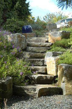 Landscape and Design Tips for Challenging Lots | Image courtesy of Landscape East & West