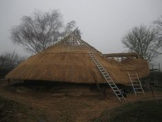 Rebuilding the Roundhouse at the Ancient Technology Centre #ATC ~ http://ownerbuiltdesign.com ~ Residential design and drafting solutions for Hawaii homeowners, real estate investors, and contractors. Most projects ready for permit applications in 2 weeks or less.