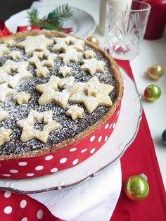 Vánoční makový koláč Waffles, Pie, Breakfast, Desserts, Food, Torte, Morning Coffee, Tailgate Desserts, Cake