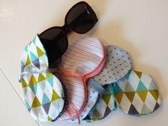pochettes à lunettes de soleil