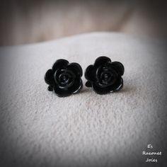Flor negra.