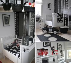 Barnrummet är en plats för lek, fantasi och vila. Inspireras av sju olika barnrum i olika stilar, i sköna material och härliga färger.