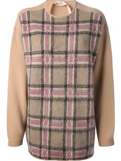N° 21 Checked Sweater