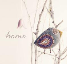 ornaments bird  bird decoration by moloco on Etsy, $10.00