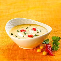 Low Carb Kichererbsensuppe mit Chili