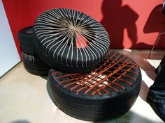tire seat: Another idea for the outdoor classroom!!