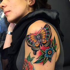 Western Tattoos Ideas New ▷ Western Tattoo Ideas 1080 1080 Skin Deep Tales Samuele Time Tattoos, Leg Tattoos, Body Art Tattoos, Small Tattoos, Tattoos For Guys, Sleeve Tattoos, Tattoos For Women, Tatoos, Traditional Butterfly Tattoo