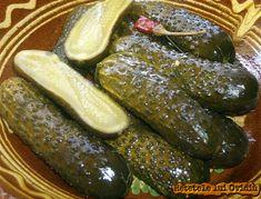 reteta de castraveti murati - www.papamond.ro Pickles, Cucumber, Cooking, Recipes, Food, Canning, Kitchen, Recipies, Essen