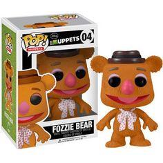 Funko POP Muppets (VINYL): Fozzie Bear http://popvinyl.net #funko #funkopop #popvinyls