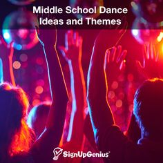 Middle School Dance Ideas and Themes. Make the junior high dance a fun and creative experience for tweens and teens.