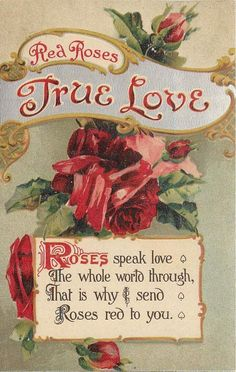 Victorian Valentines, Vintage Valentine Cards, Vintage Greeting Cards, Vintage Postcards, My Funny Valentine, Valentines Greetings, Send Roses, Decoupage, Vintage Seed Packets