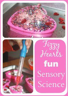 Fizzy Hearts Baking Soda Science Experiment