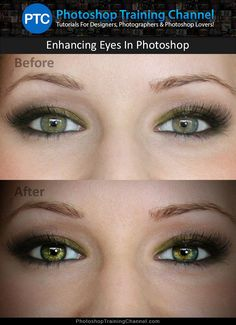 Learn 7 different Photoshop techniques that you can use to create amazing looking eyes!