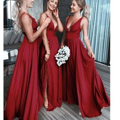 Burgundy Bridesmaid Dresses Long, Red Bridesmaids, Gold Prom Dresses, Prom Dresses For Sale, Backless Prom Dresses, Cheap Bridesmaid Dresses, Sexy Dresses, Wedding Dresses, Long Dresses