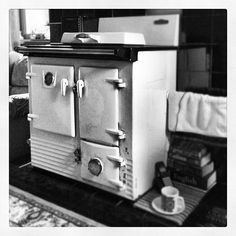 Day #137 - my Nan made copious pots of tea on this Rayburn Regent for decades