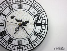 peter pan clock