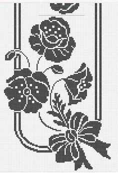 Crochet Doily Diagram, Crochet Bikini Pattern, Filet Crochet Charts, Crochet Doily Patterns, Crochet Doilies, Crochet Flowers, Cross Stitch Patterns, Crochet Bedspread, Crochet Tablecloth