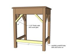 Nesting side tables with cute cottage charm for your living room! DIY plans to build these nesting end tables inspired by Pottery Barn Pratt Nesting Side Tables. Large Table, Small Tables, Side Tables, End Table Plans, Wood Nesting Tables, Sand Projects, Base Moulding, Cute Cottage, Wood Coasters