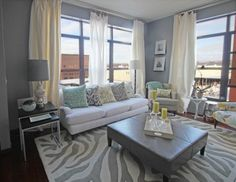 eclectic living room by Happy Interiors