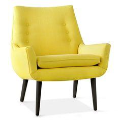 Modern Furniture | Mrs. Godfrey Side Chair | Jonathan Adler cashin ocean (with Wenge base) $1795.00 Ships is 10-14 days