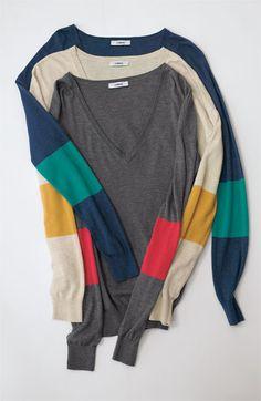 Caslon V-Neck Sweater | Nordstrom
