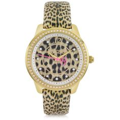 Just Cavalli Leopard 3H Women's Watch $254