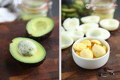 Avocado & Egg Fat Bombs & Deviled Eggs (low-carb, keto, paleo)