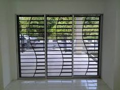 Most popular sliding window grill design of wrought iron for Window design bangladesh