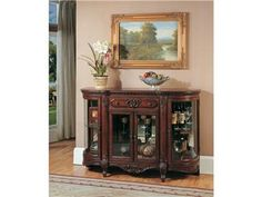 Shop for Parker House Display Credenza, GROM-8500, and other Living Room Cabinets at Osmond Designs in Orem & Lehi, UT. Style and utility seamlessly combine in this cabinet.  With attractive looks and a versatile design this cabinet is able to conveniently provide fashionable storage options.