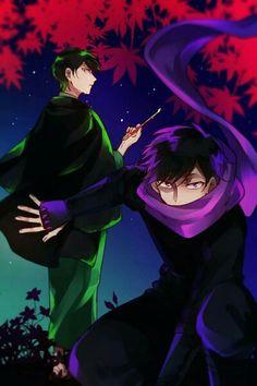 Osomatsu-san- Choromatsu and Ichimatsu #Anime「♡」