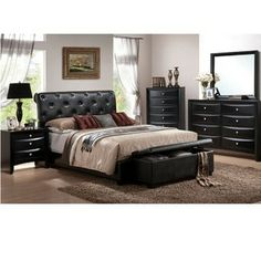 @Overstock.com.com - Update your bedroom decor with this five-piece set from Vegas. This bedroom set features two elegant finished hardwood nightstands,a mirror, and a dresser with a leather upholstered California king-size bed.http://www.overstock.com/Home-Garden/Vegas-5-piece-California-King-size-Bedroom-Set/6042026/product.html?CID=214117 $1,639.99