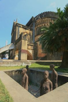 Cathedral, site of old slave market, Stone Town, Zanzibar