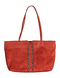Latico Leathers Nicoleta Tote Bag Vintage Red One Size 100 Leather Designer Handbag Made In India * You can get more details by clicking on the image.