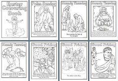 Free Printable Easter Teaching Resources, including Easter colouring sheets, Easter Maths worksheets, Holy Week colouring book, Stations of the Cross printable posters and more!