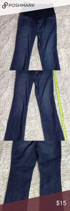 Liz Lang Maternity Blue Jeans Size 4 Liz Lange maternity jeans size 4 in great condition. 99% cotton 1% spandex. Perfect condition. Hardly worn. Liz Lange Jeans Straight Leg