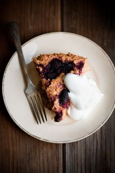 Buttermilk Olallieberry Cake. What is an olallieberry?!
