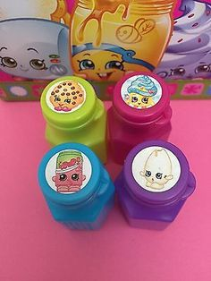 Shopkins Birthday Party Gift Bag Goodie Bag BUBBLES Favors 12