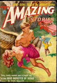 Amazing Stories 78, cover by Walter Popp