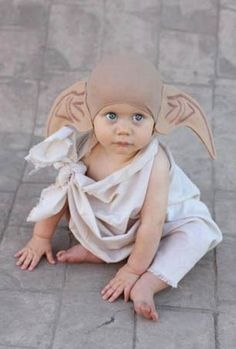 baby dobby. i can't even handle the cuteness