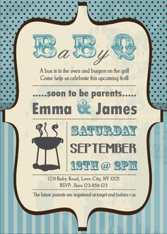 Awww this would've been PERFECT for our Baby Q's!!! Gotta remember this for next time! ;)