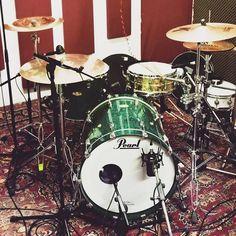 Green Pearl Drumset  Featured  @tim_diesel_drums…