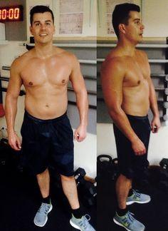 Beeindruckend! Sebastians Veränderung in nur 10 Wochen Workout bei mir.