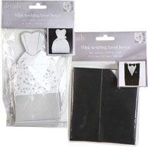 Bride & Groom Wedding Favor Boxes, $1 10-ct. Packs at Deals
