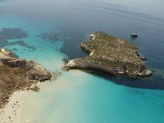 Lampedusa - Sicily , Italy  #sea #beach