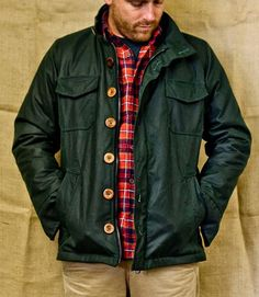 """this is called the """"hunter's jacket.""""  really intense."""