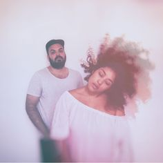 Electronic duo- new releases. Couple Intimacy, Curly Hair Styles, Natural Hair Styles, Electronic Music, New Music, Music Videos, Lyrics, Tours, Couple Photos
