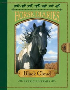 Horse Diaries #8: Black Cloud by Patricia Hermes,Astrid Sheckels, Click to Start Reading eBook, Born in Northern Nevada in 1950, Black Cloud is a black-and-white mustang colt. He loves roaming free